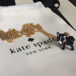 Kate Spade Antoine Dog Necklace
